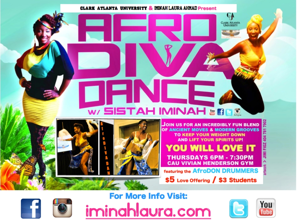 AfroDIVA DANCE Flyer