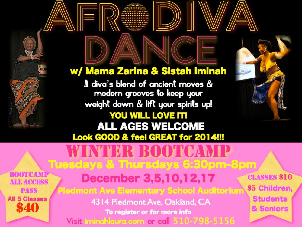 AfroDIVA DANCE 2013 Bootcamp